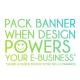 Pack design de bannière
