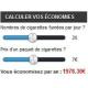 Simulateur d'économies e-Cigarettes