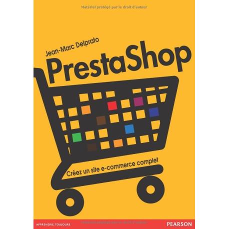 Livre parlant de PrestaShop : Créez un site de e-commerce complet