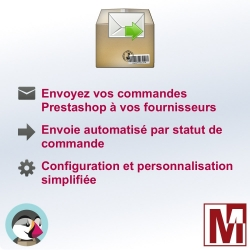 Envoyez vos commandes à vos fournisseurs par email