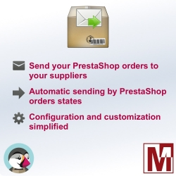 Send your orders to your suppliers