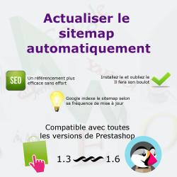 Mise à jour automatique du Sitemap