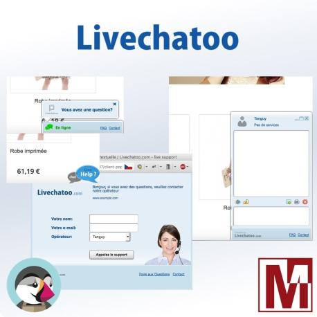 Module Livechatoo gratuit pour PrestaShop