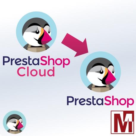 Migration de PrestaShop Cloud vers PrestaShop