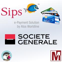 Module de Paiement Société Générale ATOS sogenactif pour PrestaShop