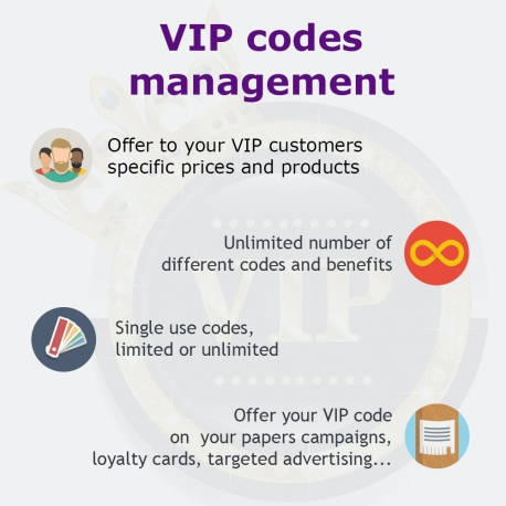 VIP Group for PrestaShop