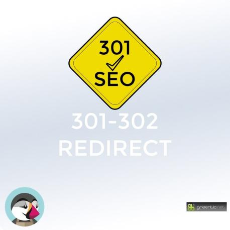 Redirection 301 / 302 des produits désactivés ou supprimés pour PrestaShop