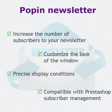 PrestaShop module PopIn Newsletter