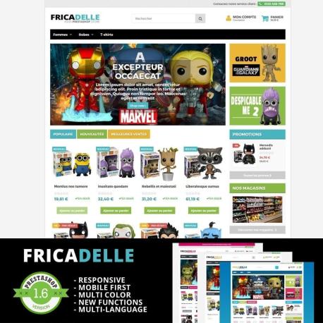 Fricadelle - Thème Responsive PrestaShop