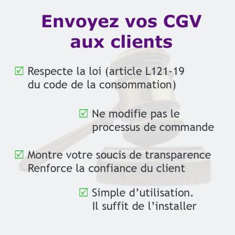 Module PrestaShop [Loi Hamon] Envoyez vos CGV aux clients