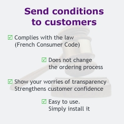 Send your GTC to your customers