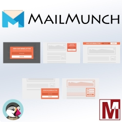 PrestaShop Free MailMunch integration module