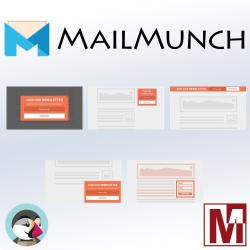 Module PrestaShop gratuit d'intégration de MailMunch
