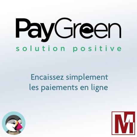 Installation module de paiement PayGreen