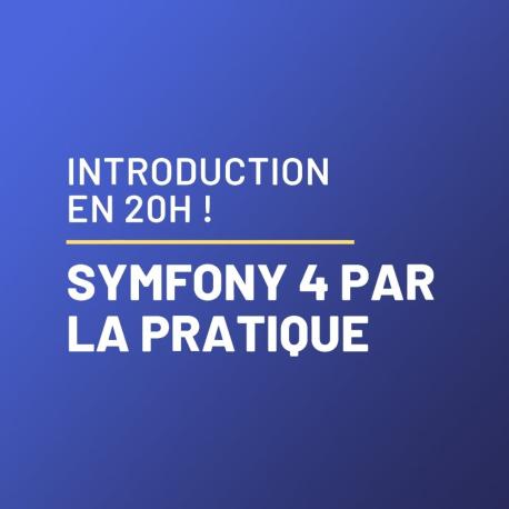 Symfony 4 : les fondamentaux par la pratique