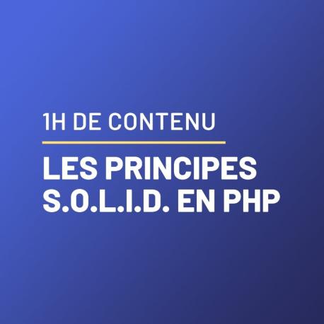 Lior Chamla, Comprendre les principes SOLID en PHP
