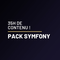 [Pack initiation Symfony] : SOLID, Symfony 4, ApiPlatform et React !