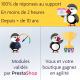 PrestaShop Intégration ultime pour le Livechat Zendesk