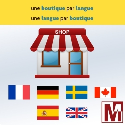 PrestaShop multi boutique, une langue par boutique