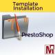 Service PrestaShop Installation Template