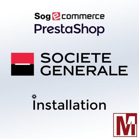 PrestaShop, Installation module de paiement Sogecommerce de la Société Générale