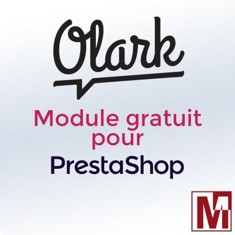 Module gratuit PrestaShop pour installer le Live Chat Olark