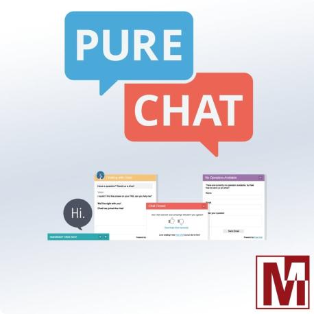 Module Gratuit d'intégration PureChat pour PrestaShop
