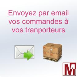 Envoyer les commandes par email aux transporteurs