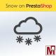 Chute de neige sur PrestaShop