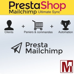 Module PrestaShop de synchronisation avec Mailchimp