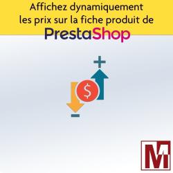 PrestaShop Calcul de prix par quantité multi-devise et présentation de l'économie réalisée