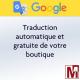 Module gratuit PrestaShop traduisant dans plus de 100 langues votre boutique